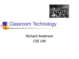 IRS_2002 - Classroom Presenter