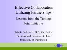Collaborating for a New Century in Public Health