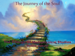 The Journey of the Soul - metaArtsAndSciences.org
