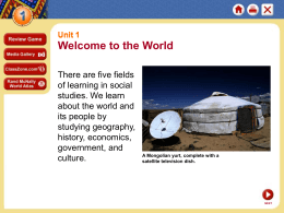 1 - Dunkleman`s World Cultures