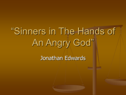 """Sinners in The Hands of An Angry God"" page 79"