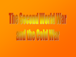 Cold War Review PPT - Historyteacher.net