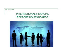 International Financial Reporting Standards(IFRS)