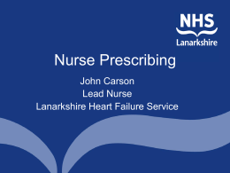 Implications for Nurse Prescribers