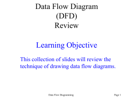 How to Draw a Data Flow Diagram (DFD)