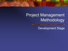 Project management_PPP - School of Information
