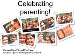 celebratingparenting - Victorious Kidss Educares