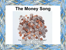 Money powerpoint