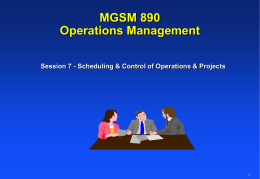 Introduction Ops Mgt - farrell