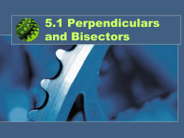 Perpendicular Bisector Powerpoint File