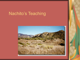 Nachitos Teachings - Open Court Resources.com