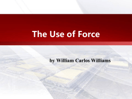 The Use of Force by William Carlos Williams William Carlos Williams