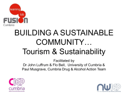 Sustainable tourism development is dependent on Communities