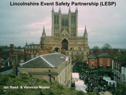 Lincolnshire Event Safety Partnership