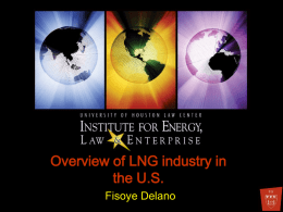 Overview of LNG industry in the U.S.