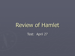 Review of Hamlet