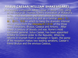 julius caesar(william shakespeare)