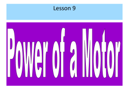 Power_of_a_motor_notes