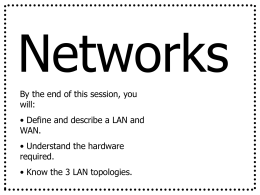 Networks . ppt