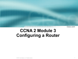 Power Point Chapter 03 CCNA2