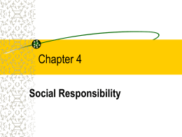 Chapter 3 - Business Ethics Resources