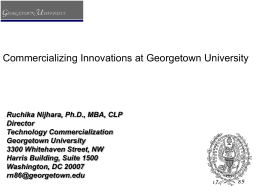 Nijihara_-_Georgetown_U_Commercialization_051315
