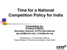 National Competition Policy
