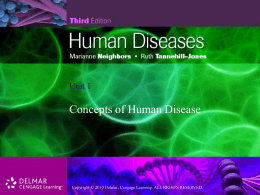 Introduction to Human Diseases