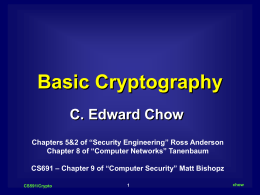 Basic Cryptography viewgraph