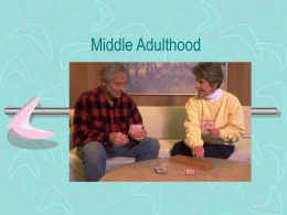 Middle Adulthood