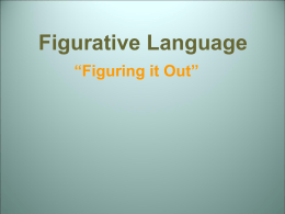 figurative-language power point