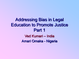 Addressing Bias in Legal Education 2