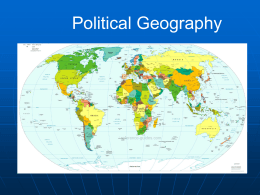 Political Geography PPT