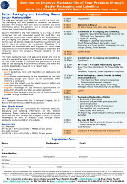 Brochure - Seminar on Improve Marketability of Your