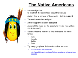 Presentation: Native Americans slide 6 - Teachnet UK-home