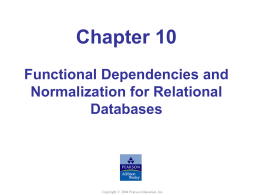 Elmasri/Navathe, Fundamentals of Database Systems, Fourth Edition