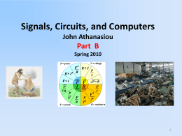 Electronic Components (cont.)