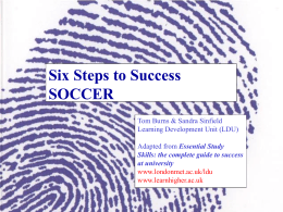 Six steps ppt