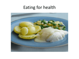 Eating for health pages 4 and 5