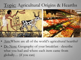 Introduction to Agriculture PPT