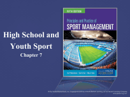 Chapter 7 - High School and Youth Sport