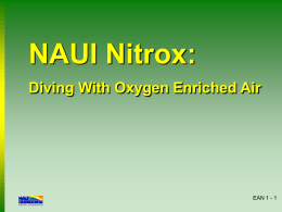 NAUI Nitrox: A Guide to Diving With Oxygen Enriched Air