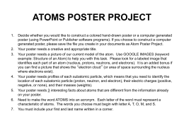 Atoms_Poster_Project