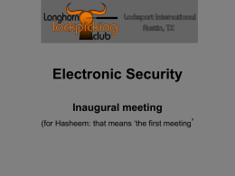 ElectronicSecurity1 - Longhorn Lockpicking Club