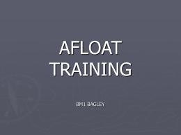 afloat training - Boatswainsmate.net