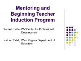 Beginning/Teacher Mentor Program