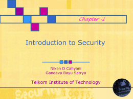 information security - Arif Nugroho Personal Blog