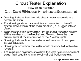 3-light Circuit Tester Explanation