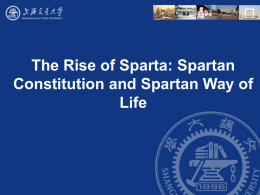 5. The Spartan Way of Life