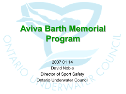 Aviva Barth Memorial Project Presentation